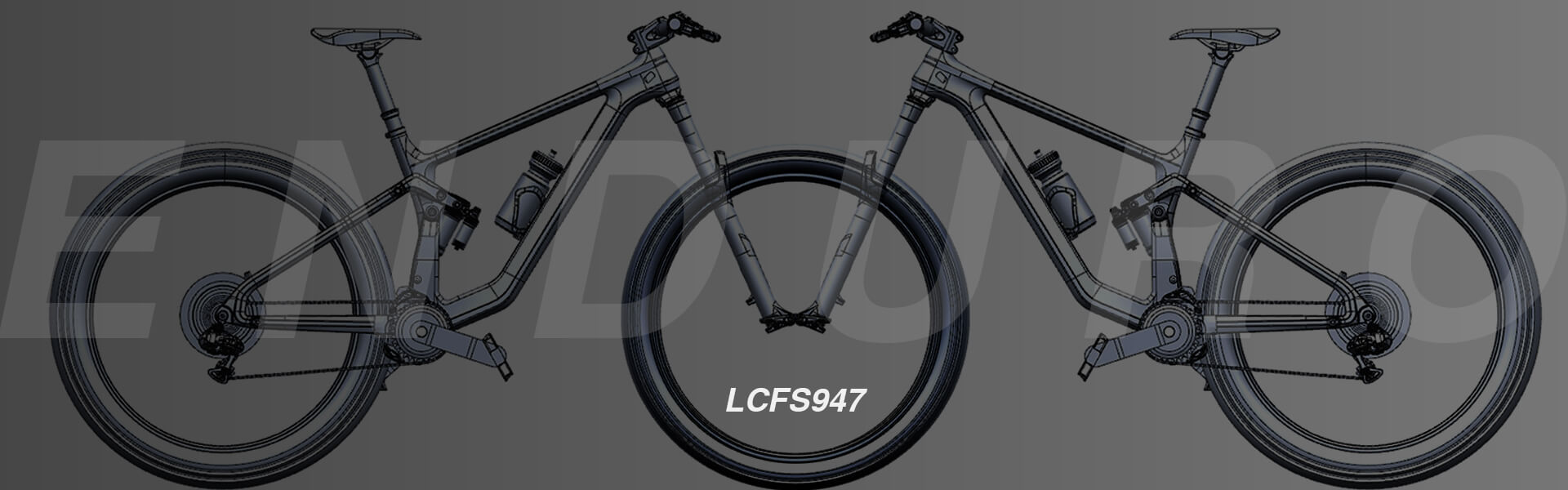 lcfs947 all new enduro frame